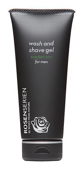 Wash and shave gel for men